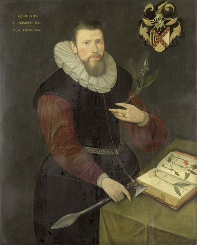 Image from object titled Portrait of a Botanist
