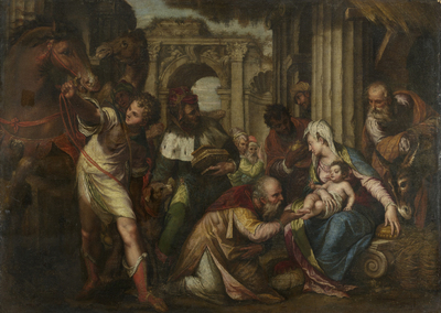 The Adoration of the Magi | Farinati, Paolo