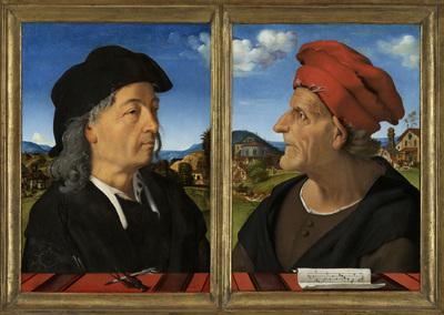 Image from object titled Portraits of Giuliano and Francesco Giamberti da Sangallo