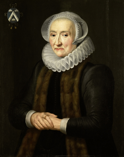Image from object titled Portrait of Alid van der Laen, Wife of Maerten Ruychaver