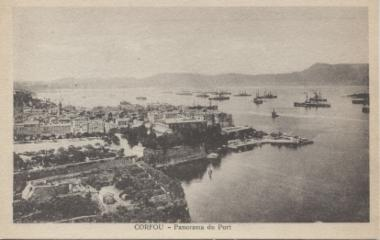 Image from object titled Port of the city of Corfu