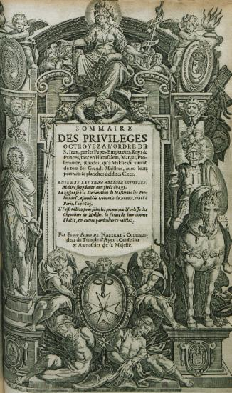 Title page of the first volume of the edition.