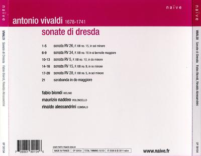 [CD 4]: Sonate di Dresda