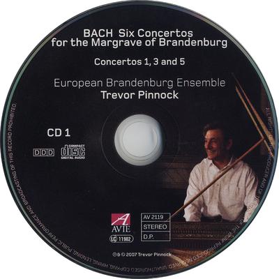 Six concertos for the Margrave of Brandenburg