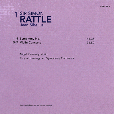 CD 2: Symphony no. 2 ; Symphony no. 3