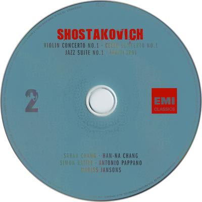 Symphony no. 1 ; Piano concerto no. 2 ; Violin concerto no. 1 ; Cello concerto no. 1