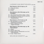 "CD 5: Piano sonatas nos. 16, 17 ""The tempest"", 18 & 19"