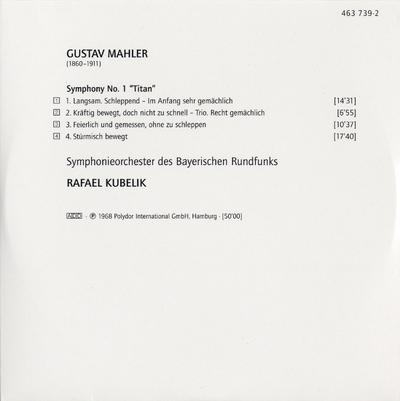 CD 1: Symphony no. 1