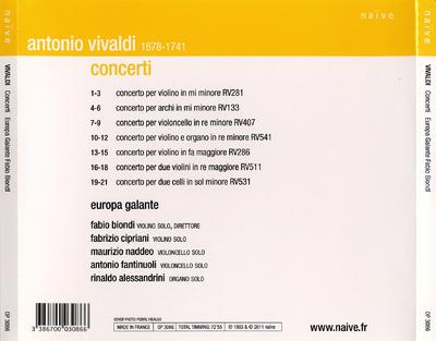 [CD 2]: Concerti