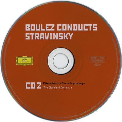 CD 3: Le chant du rossignol ; L'histoire du soldat suite ; Scherzo fantastique ; Le roi des étoiles