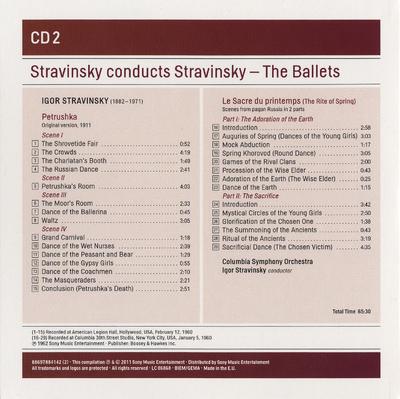 CD 5: Scènes de ballet ; Bluebird Pas-de-deux ; Le baiser de la fée