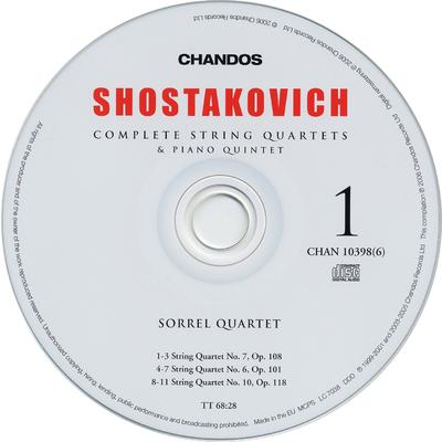 "CD 2:  Symphonies nos. 3 & 4 ""Tragic"""