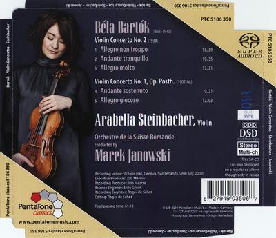 Violin concerto no. 2 ; Violin concerto no. 1, op. posth.