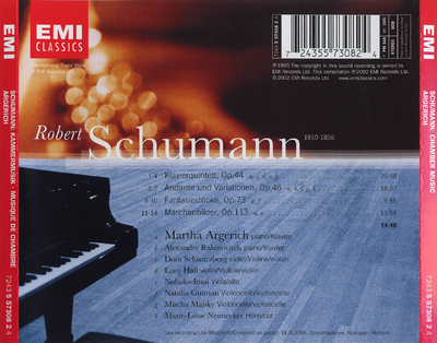 Klavierquintett ; Andante und Variationen ; Fantasiestücke ; Märchenbilder