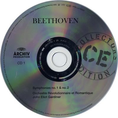 """CD 2: Symphonies no. 3 """"Eroica"""" & no. 4"""