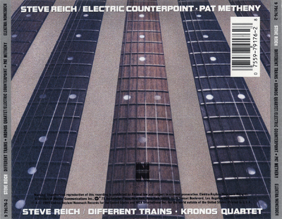 Different trains ; Electric counterpoint