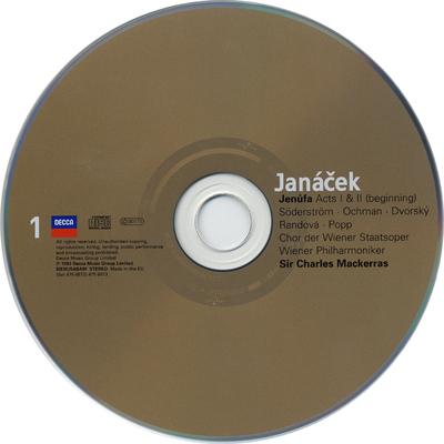 CD 1-2: Jenúfa ; Žárlivost