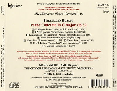 Piano concerto in C major op. 39