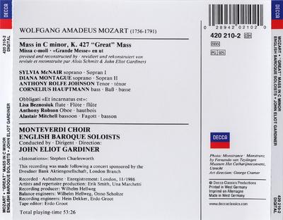 "Mass in C minor, K. 427 ""Great"" Mass"