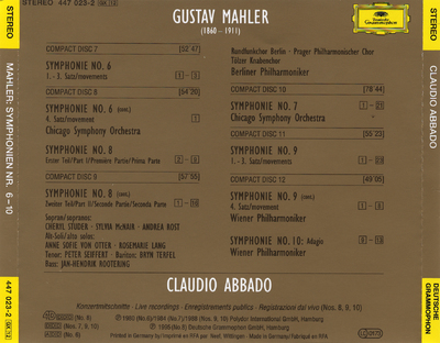 CD 1: Symphonien Nos. 1-5