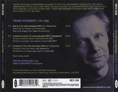 Fantasy in C ; Duo in A ; Arpeggione sonata