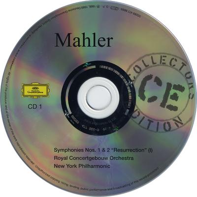 """CD 1: Symphonies Nos. 1 & 2 """"Resurrection"""" (1)"""