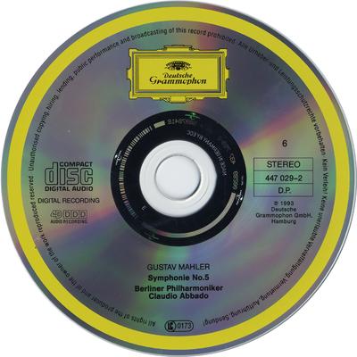 CD 2: Symphonien Nos. 6-9 ; Symphonie No. 10 Adagio
