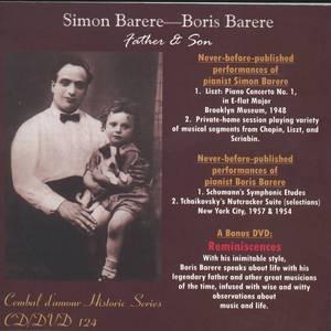 Simon Barere-Boris Barere, Father & Son