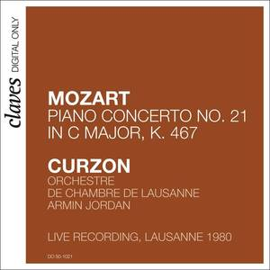 "Mozart: Piano Concerto No. 21 in C Major, K. 467 ""Elvira Madigan"" (Live in Lausanne 1980)"