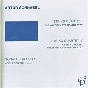 String Quartets 1 & 4/Sonata for Cello