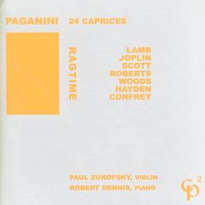 Ragtime/Paganini: 24 Capricees