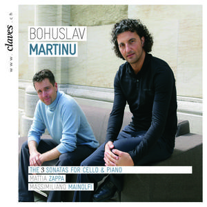 Bohuslav Martinu: The 3 Cello Sonatas