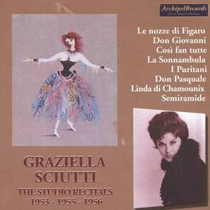 Graziella Sciutti - The Studio Recitals