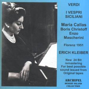 Verdi - I Vespri Siciliani: Callas; Erich Kleiber