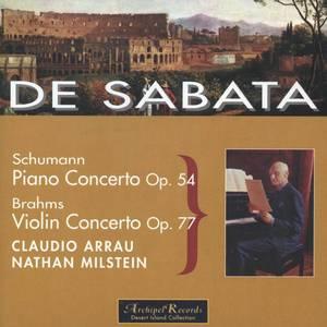 De Sabata conducts Schumann and Brahms