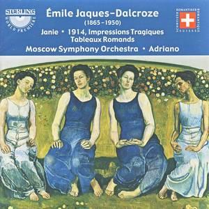 Émile Jaques-Dalcroze, Janie, 1914, Impressions Tragiques Tableaux Romands