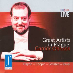 Great Artists in Prague - Garrick Ohlsson