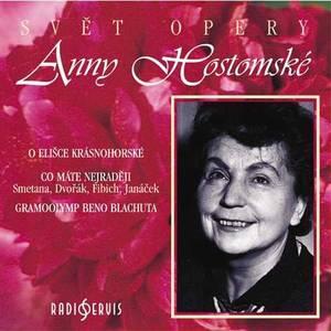 Word of Anna´s Hostomska opera