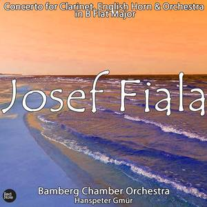 Fiala: Concerto for Clarinet, English HoRN0 & Orchestra in B Flat Major