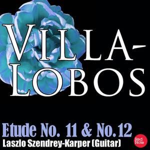 Villa-Lobos: Etude No. 11 & No.12