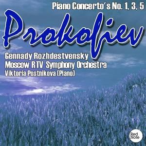 Prokofiev: Piano Concerto's No. 1, 3, 5