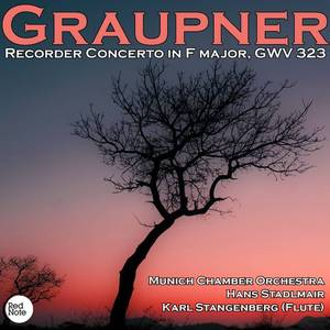 Graupner: Recorder Concerto in F major, GWV 323