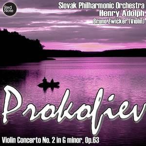 Prokofiev: Violin Concerto No. 2 in G minor, Op.63