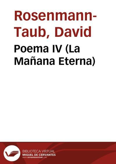 Poema IV (La Mañana Eterna)