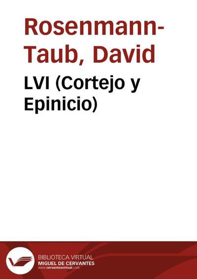 LVI (Cortejo y Epinicio)