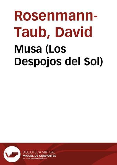 Musa (Los Despojos del Sol)