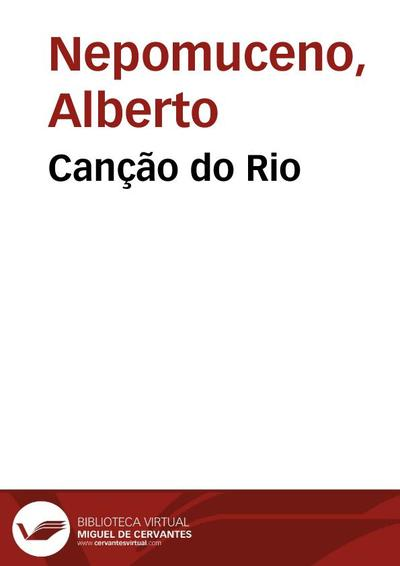 Canção do Rio