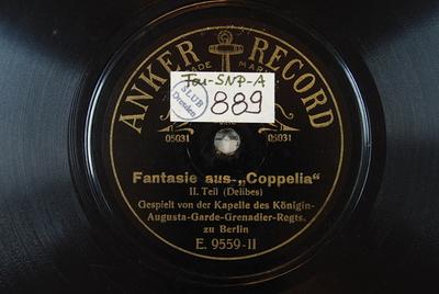 Coppélia / Auswahl