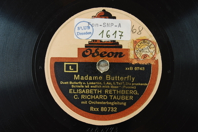 Madama Butterfly / Auswahl