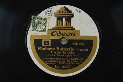 Madama Butterfly <Un bel dì vedremo>